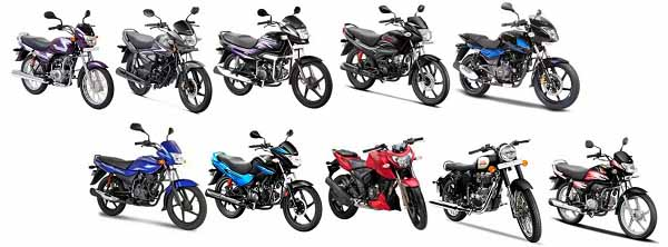 Bajaj All Released Bikes