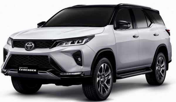 Coming Soon Toyota Fortuner Legender in 2021